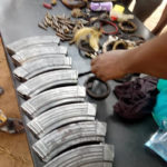 Deadly Kidnappers Arrested By Police In Benue State, Charms And Ammunition Recovered (PHOTOS)