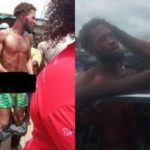 Yahoo Boy Beaten Mercilessly After He Was Caught While Trying To Use 6-year-old For Rituals In Delta (photos)