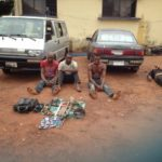 Weapon Recovered As Police Dislodge Armed Robbers In Enugu