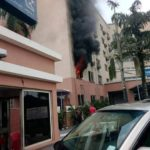 Fire Guts Golden Tulip Hotel In Port-Harcourt, Rivers State (Photos)