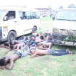 Suspected Thugs Arrested In Akwa Ibom Ahead Of Governorship Election (Photos)