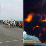 Panic In Bayelsa As Major Pipeline Explodes, Hundreds Of People Flee For Safety