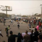 Youths In Benue State Protest Alleged Deployment Of Military Personnel