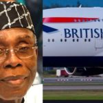 British Airways Reacts To Audu Ogbeh's Claim Of Nigerians Importing Pizza From London