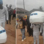 Edo Woman Laid To Rest In An 'Aircraft' In Her Hometown (Photos)