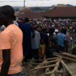 Trapped Victims Cry For Help As Three Storey Building Collapses In Ibadan (Photos & Video)