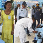 Joyful Moment For A Disabled Officer As Air Force Fulfills Promise Of 8-Yrs, Acquires N8 Million Motorized Wheelchair (photos)
