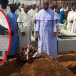 Kidnapped Enugu Catholic Priest Found Dead In Bush, Laid To Rest Amidst Tears (Photos)