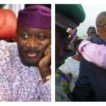 Drama As Fayemi, Fayose Hug At Public Event