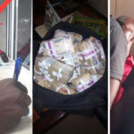 Nigerian Police Officers Waiting To Collect N1,000,000 Bribe From Big Boys In Asaba Arrested Inside Bank