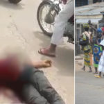 Okada Man Shot Dead In Ibadan As Post-Election Riots Continues In Oyo State (Video)