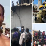 Owner Of Lagos Collapsed Building Rescued (Video)