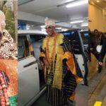 Photos: Oluwo of Iwo land, Oba AbdulRasheed Get Royal Treatment In London