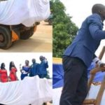 Lovely Couple Use Tipper For Their Wedding In Akwa Ibom State (Photos)