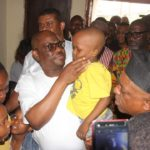 Wike Donates House, N200m To Family Of PDP Agent Killed By Police In Rivers (photos)