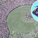 50,000 People Attend Kanye West's Sunday Service