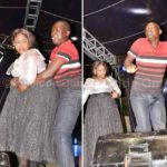 Man Ejaculates While Dancing With Big-sized Lady At Easter Event. (Photos)