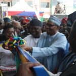 Buhari Unveils Nigeria's Biggest Maternity Hospital, Commissions Other Projects In Lagos (photos)