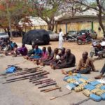 Marijuana, Weapons Recovered As Police Nab Kidnappers And Armed Robbers During Raid