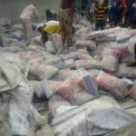 Dangote Truck Crushes Over 8 Persons To Death In Edo. (Graphic Photos)