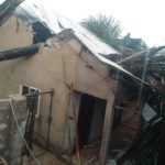 3 Students Escape Death After Tree Fell On Their Lodge During Rainfall In Akwa Ibom. (Photos)