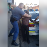 Suspected Nigerian Drug Dealer Nabbed In South Africa, Tried To Resist Arrest. (Photos & Video)