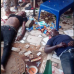 Panic As Gunmen Open Fire On Men In An Eatery. (Graphic Photos)