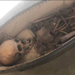 Shock As Human Skull, Remains Are Found In A Coffin Inside A Church