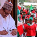 Buhari Finally Signs Minimum Wage Bill Into Law