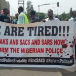 Photos From The #EndSARS Campaign Protest In Abuja, Lagos And Ibadan