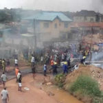 Ibadan Fire: Two Confirmed Dead, Cause Of Fire Revealed