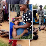 Lucky Lady Rescued From Diabolic-Yahoo Boys In Asaba (Photos)