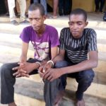Police Parade Two Brothers Notorious For Kidnappings In Ondo