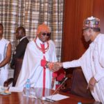 What Oba Of Benin Said To Buhari Over The Presidential Elections