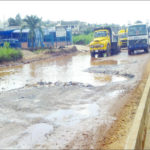 Lagos-Abeokuta road: Motorists, residents groan as contractor stops work