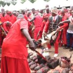 Priests And Herbalists Storm The Streets Of Benin Kingdom To Wage War On Kidnappers, Cultist