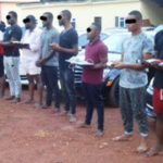 EFCC Arrest, Parade 37 Suspected Internet Fraudsters In Imo State (photos)