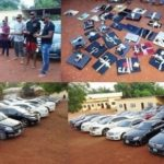 EFCC arrests 37 yahoo boys in Imo state, 25 exotic cars seized (photos)