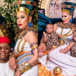 Femi-Fani Kayode's wife, Precious and triplet sons celebrate their birthdays with lovely photos