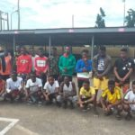 EFCC arrests 22 suspected internet fraudsters in Delta
