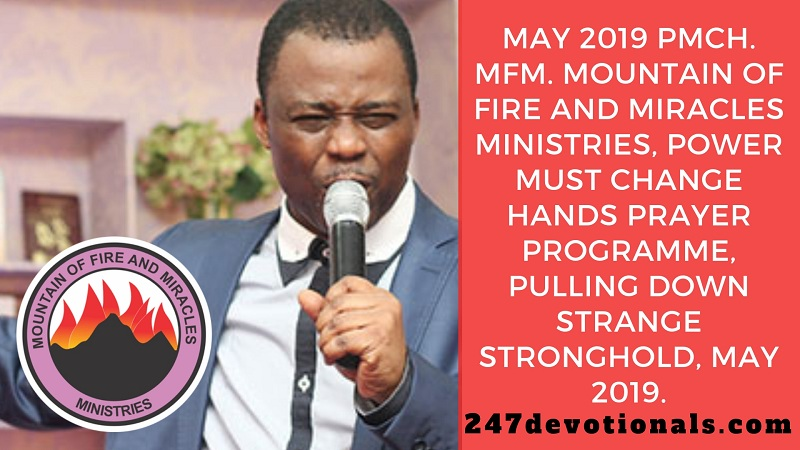 MFM Power-Must-Change-Hand-Prayer Points For May, 2019 In PDF