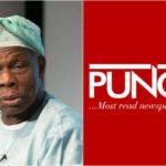 Ex President, Obasanjo Sues Punch & Columnist, Olumhense For N1 Billion For Alleged Defamation
