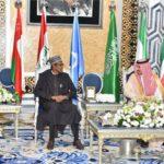 President Buhari arrives Saudi Arabia to participate in 14th IOC summit