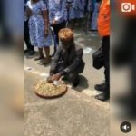 Groundnut Seller In Suit, Gives Receipt To His Buyers (Photos)