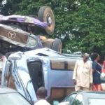 Mourners Escape Death In Anambra As Tipper Crashes Into Burial Location, Four Injured
