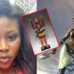 Nigerian Lady Claims To Be Ogbanje As She Celebrates Mammy Water Goddess (Photos)