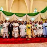 Osinbajo And Wife, Yakubu Gowon, Boss Mustapha, Godwin Emefiele, Others At The Presidential Inauguration Interdenominational Church Service(Photos)