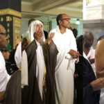 Photos Of Buhari In Makkah As The President Performs Umrah (Photos)