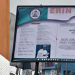 Burial Plans Of Slain Lawmaker Olatoye Sugar Released On Giant Billboards In Ibadan (Photos)