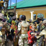 Troops Rescue 29 Women, 25 Children From Boko Haram Terrorists In Borno (Photos)